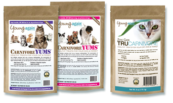 Young Again Treats: Carnivore Yums, TruCarnivore and Canine Cookies