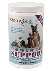 Immune & Digestive Support, bioceutical supplement to support your pet's overall health.